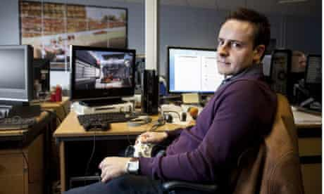 Games designer Stephen Hood