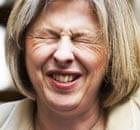 Theresa May in Edinburgh on 20 April 2010.