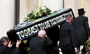 McLaren Funeral: Malcolm McLaren Funeral