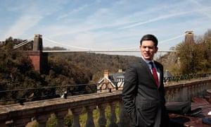 David Miliband in Bristol on 22 April 2010.