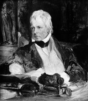 Literary Edinburgh: Sir Walter Scott (1771-1832), Scottish novelist and poet