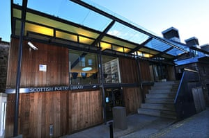 Literary Edinburgh: The Scottish Poetry Library in Edinburgh