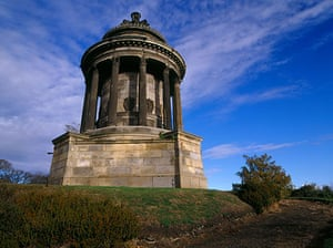 Literary Edinburgh: Robert Burns memorial