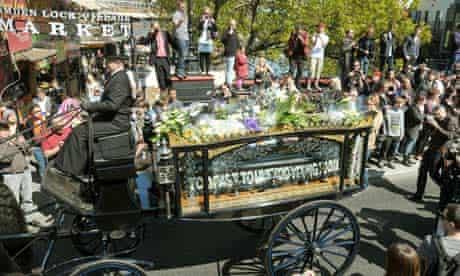 Malcolm McLaren funeral