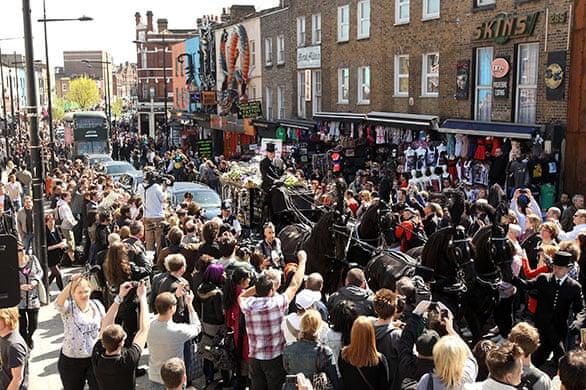 Malcolm McLaren's funeral | Music | The Guardian