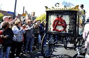 Malcolm McLaren's funeral: Malcolm McLaren's funeral