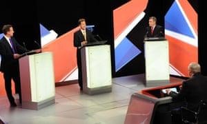 2010 General Election leaders debate 22 April