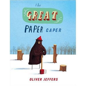 Kate Greenaway 2010: The Great Paper Caper by Oliver Jeffers