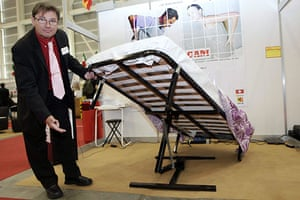 Exhibition of Inventions: Jose Manuel Martin Ruiz invented a bed lifting system