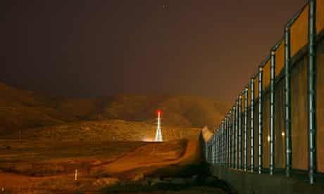 Border fence near Tijuana, Mexico