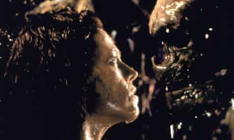 Sigourney Weaver and Alien