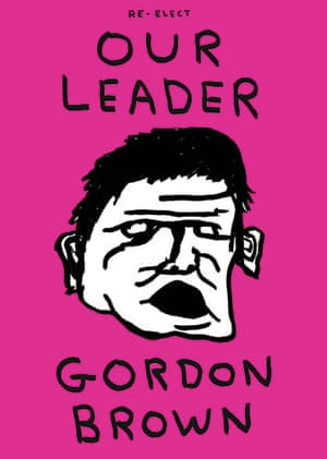 Poster politics: David Shrigley