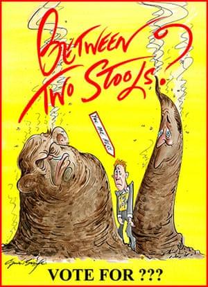 Poster politics: Gerald Scarfe