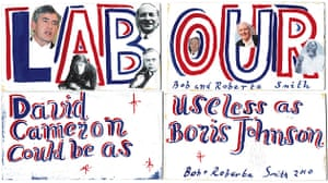 Poster politics: Bob and Roberta Smith