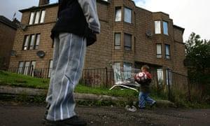 child poverty Glasgow