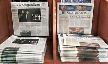Wall Street Journal, New York Times