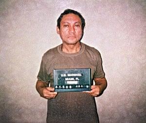Manuel Noriega: 1990: Panamian general Manuel Antonio Noriega
