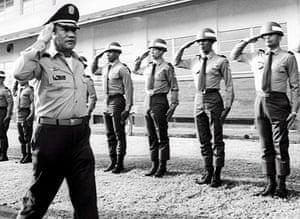 Manuel Noriega: 1985: Manuel Antonio Noriega in Panama