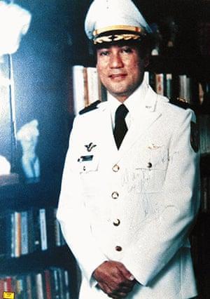 Manuel Noriega: circa 1980: General Manuel Noriega