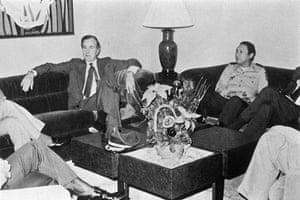 Manuel Noriega: 1983: George W Bush meets Manuel Noriega