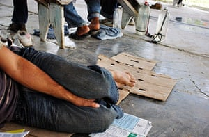 migrants in mexico: Migrants on the move in Mexico