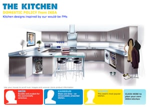 Ikea's election-themed 'kitchen' designs