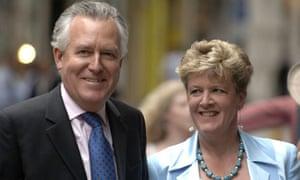 Elizabeth Haywood and Peter Hain
