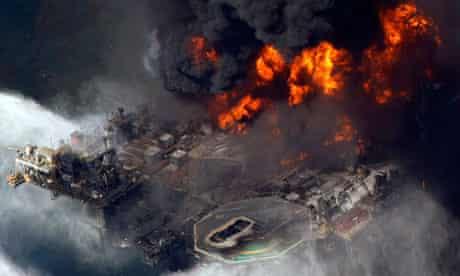 Deepwater Horizon rig fire