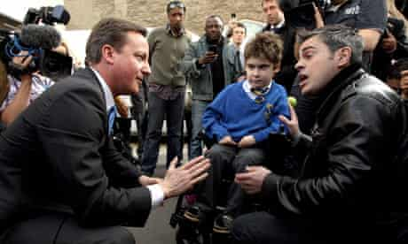 David Cameron Campaigns In London