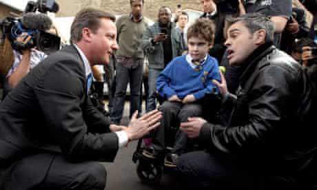 David Cameron and Jonathan Bartley