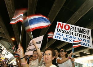 Thailand protests: Thailand political demonstrations