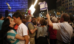 Independence Day in Tel Aviv
