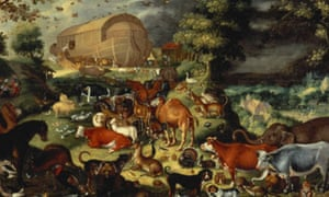 The animals entering the ark by Dutch painter Jacob Savery II