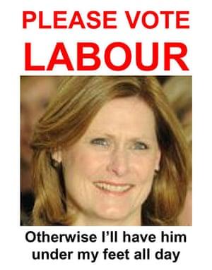 Reader political posters: Denby Richards