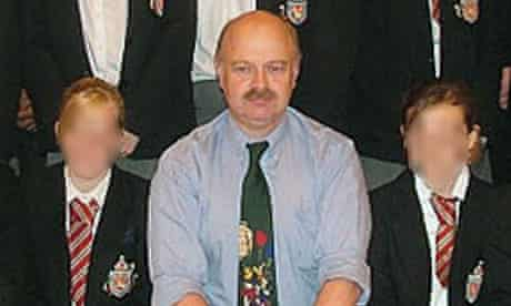 Peter Harvey, who is accused of attempting to murder a pupil.