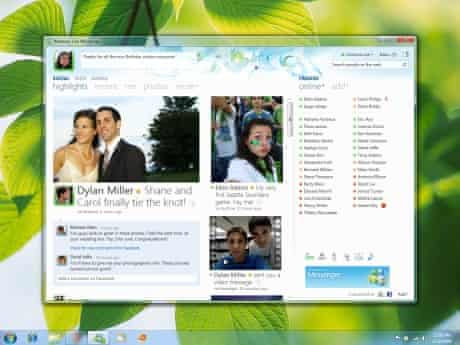 Windows Live Messenger screen shot