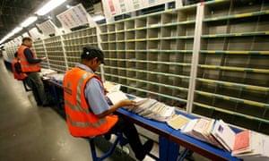royal mail sorting