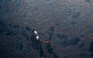 Oil spill: Deepwater Horizon oil rig spill in Gulf of Mexico