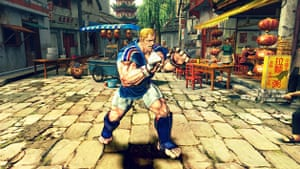 Street Fighter 4: The new characters from Street Fighter 4