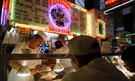 Mexican food stall LA