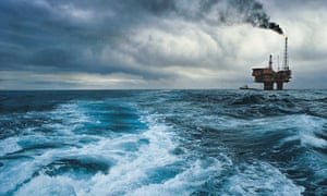 Not for the faint-hearted: an offshore oil rig