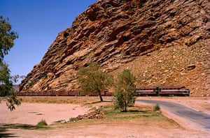 10 best train journeys: Ghan railway Australia