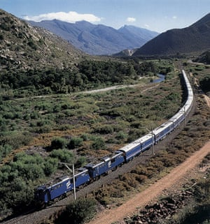 10 best train journeys: Blue Train Pretoria to Cape Town South Africa