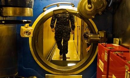 Inside the USS Alaska submarine