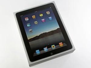 iPad disassembled: The boxed up brand new iPad