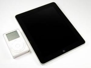 iPad disassembled: iPad and iPod