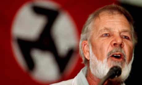 Eugene Terreblanche south african white supremacist