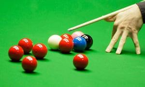 Snooker Sheffield Crucible