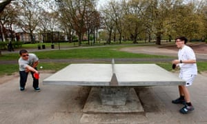 Table Tennis Coming To A Park Near You Soon Life And