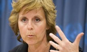 Connie Hedegaard EU climage chief